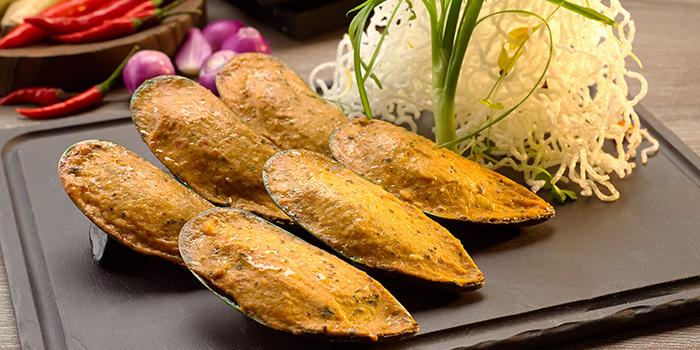 Mussel Otah Otah from Atrium Restaurant in Holiday Inn Singapore Atrium in Outram, Singapore