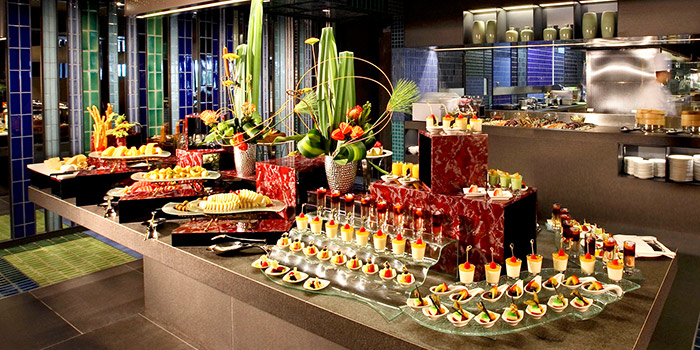 Dessert Spread from Azur in Crowne Plaza Changi Airport in Changi, Singapore
