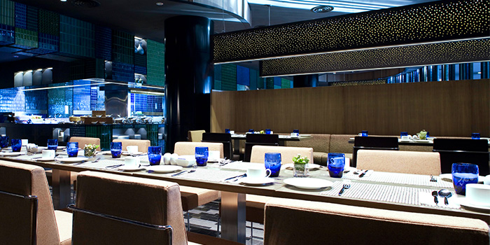 Dining Area in Azur in Crowne Plaza Changi Airport in Changi, Singapore