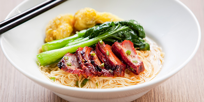 Wanton Noodles from Azur in Crowne Plaza Changi Airport in Changi, Singapore