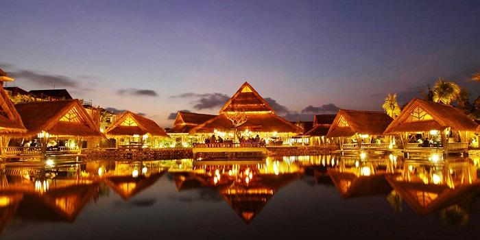 Evening View of Bale Udang (Kuta) in Kuta, Bali
