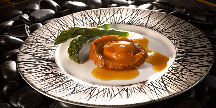 Braised Abalone from Crystal Jade Dining IN Restaurant in VivoCity in Harbourfront, Singapore