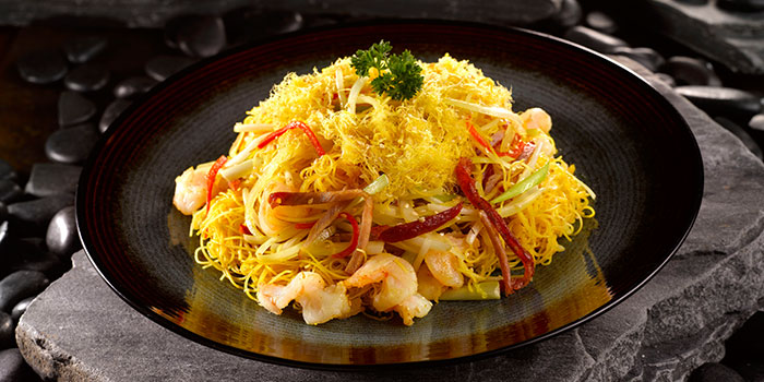 Hong Kong Fried Noodles from Crystal Jade Dining IN Restaurant in VivoCity in Harbourfront, Singapore