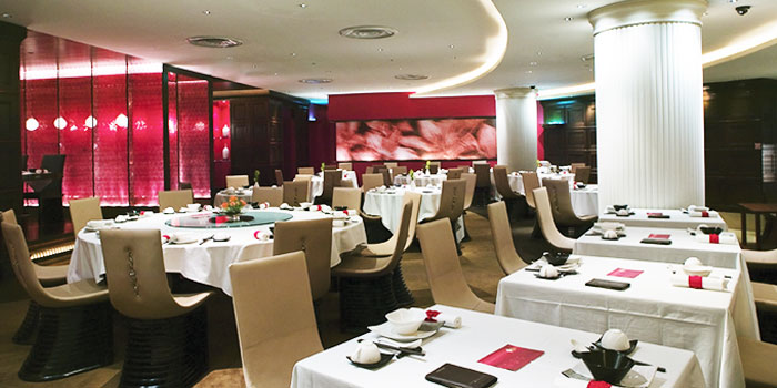 Interior of Crystal Jade Dining IN Restaurant in VivoCity in Harbourfront, Singapore