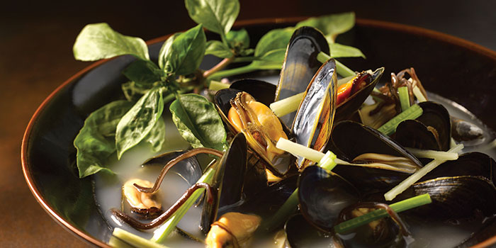 French Mussels from Crystal Jade Golden Palace in Orchard, Singapore