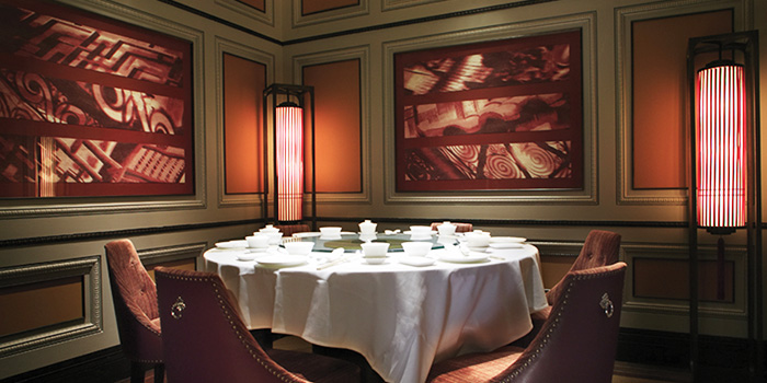 Dining Room of Crystal Jade Palace in Orchard, Singapore