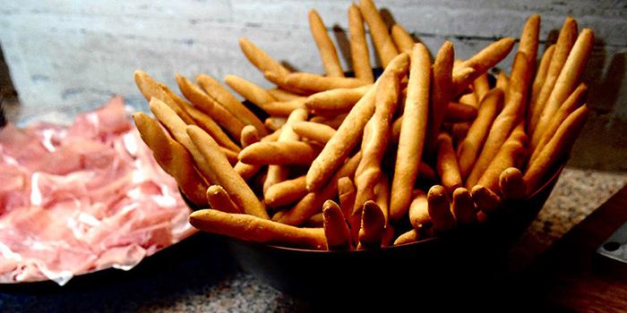 Parma Ham & Breadsticks from Cibo Italiano in River Valley, Singapore