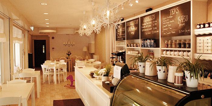 Interior of Fika Swedish Cafe & Bistro (Beach Road) in Bugis, Singapore