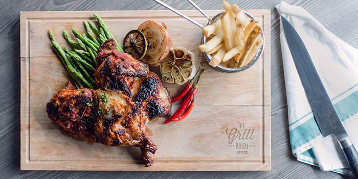 Peri Peri Sping Chicken, The Grill Room, Causeway Bay, Hong Kong