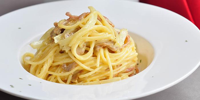 Spaghetti Carbonara, Bridal Tea House, To Kwa Wan, Hong Kong