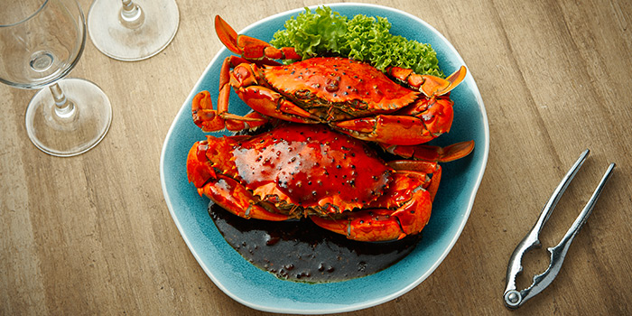 Black Pepper Crab from Spices Cafe in Concorde Hotel Singapore in Orchard, Singapore