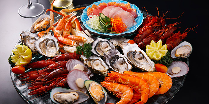 Cold Seafood Station from Spices Cafe in Concorde Hotel Singapore in Orchard, Singapore