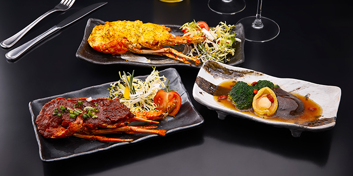 Lobster & Abalone from Spices Cafe in Concorde Hotel Singapore in Orchard, Singapore