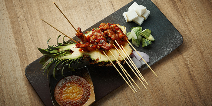 Pork Satay from Spices Cafe in Concorde Hotel Singapore in Orchard, Singapore