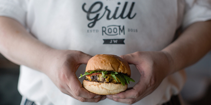The Grill Room Wagyu Burger, The Grill Room, Causeway Bay, Hong Kong