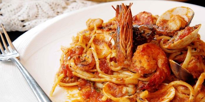 Linguini alla Pescatora from Ristorante Da Valentino in Kuningan, Jakarta