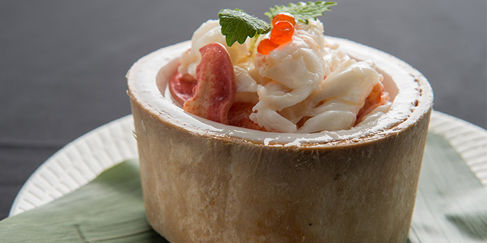 Fresh Lobster with Coconut Jelly from Xi Yan Private Dining in Tanjong Pagar, Singapore