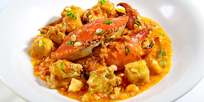 Stir Fried Meaty Crabs & Radish Cake in XO Sauce from Xi Yan Private Dining in Tanjong Pagar, Singapore