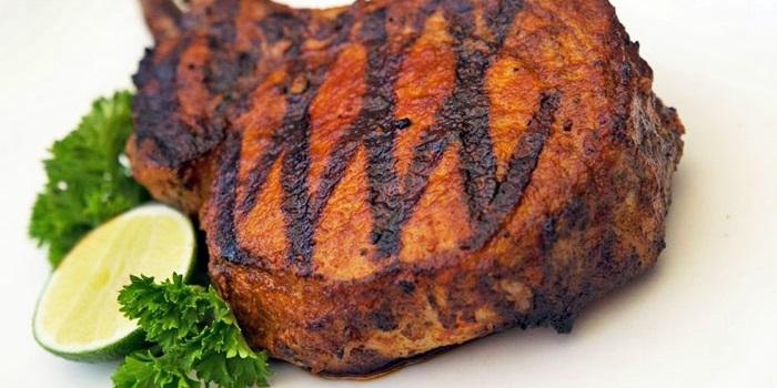 Infamous BBQ Pork Chops at HogWild in Seminyak, Bali