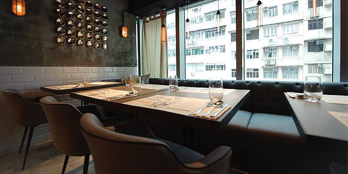 Windows Seating, The Grill Room, Causeway Bay, Hong Kong