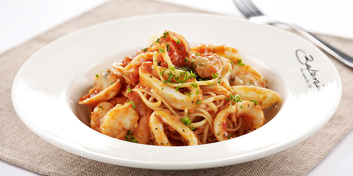 Seafood Pasta from Bakerzin @ VivoCity in Harbourfront, Singapore