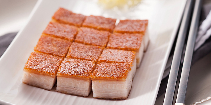 Crispy Roasted Pork, Lei Garden, Mong Kok, Hong Kong