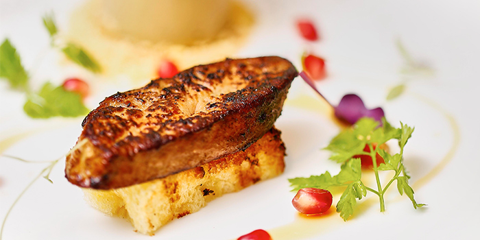 Foie Gras from Froth in Raffles Place, Singapore