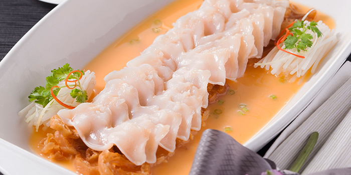 Geo-Duck Clam with Lobster Soup, Lei Garden, Tsim Sha Tsui, Hong Kong