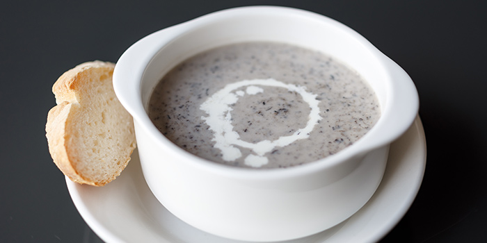 Mushroom Soup from Good Thyme Bistro in Ang Mo Kio, Singapore