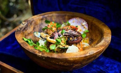 Dish 1 at La Favela, Bali