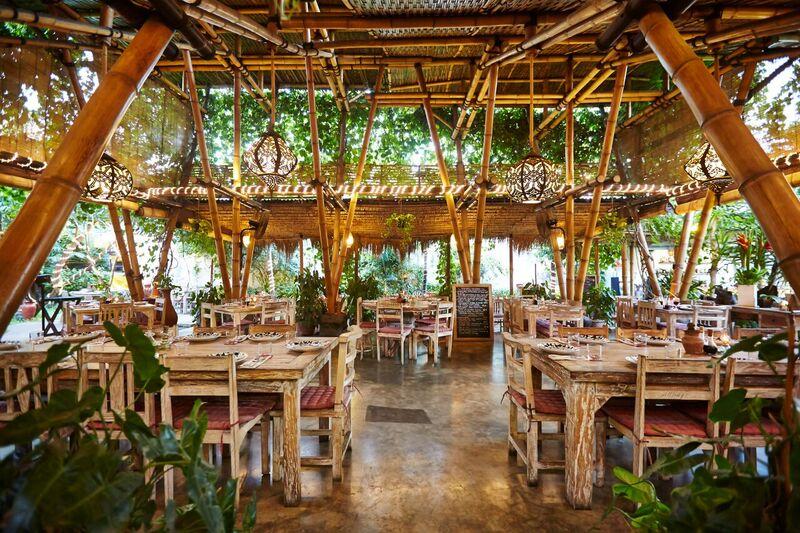 Interior at La Finca, Bali