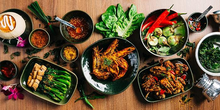 Range of Dishes from Nara Thai Cuisine (ION Orchard) in Orchard, Singapore