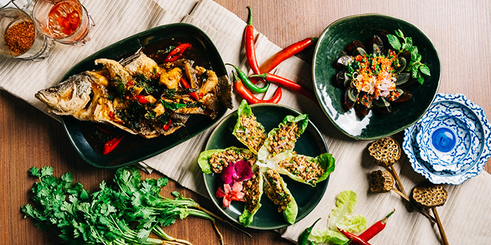 Selection of Dishes from Nara Thai Cuisine (ION Orchard) in Orchard, Singapore