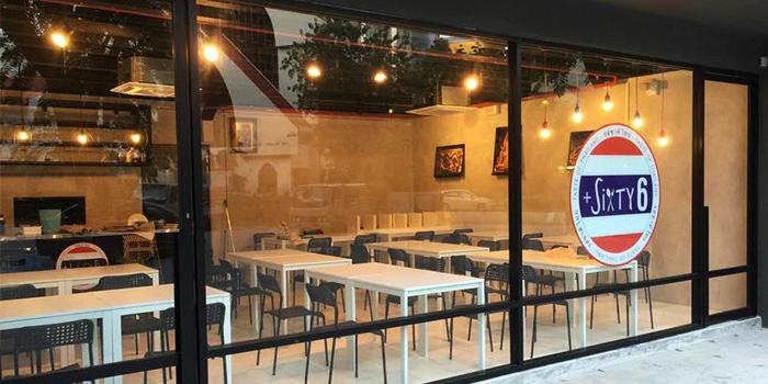 Exterior of +Sixty6 in Bugis, Singapore