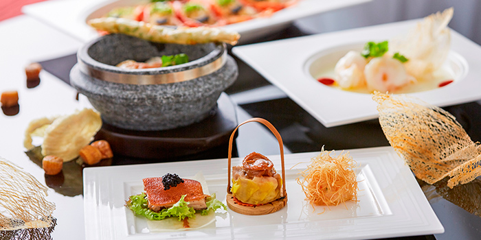 Signature Items from Summer Palace serving Chinese cuisine in Regent Singapore in Tanglin, Singapore
