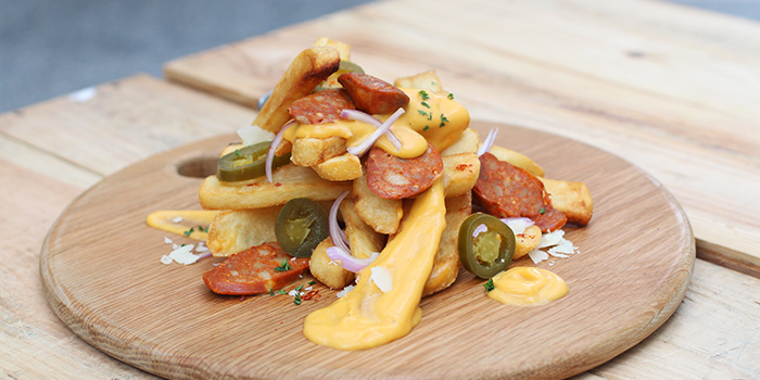 Cheese Fries from Supply & Demand (Esplanade) in Promenade, Singapore