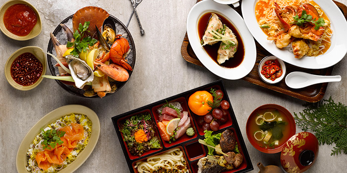 3-Course Lunch Set at mezza9 in Grand Hyatt Singapore in Orchard, Singapore