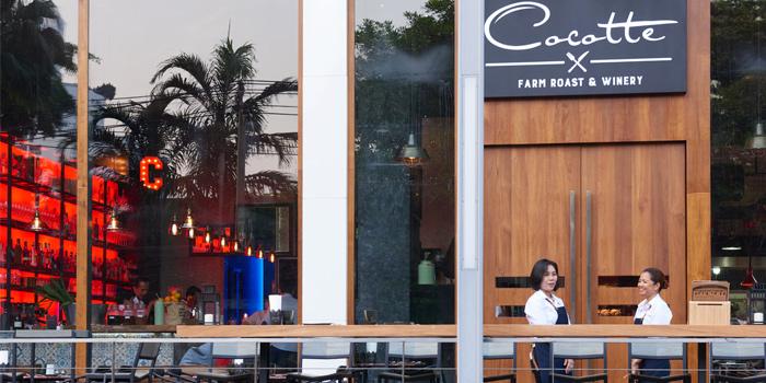 Exterior of Cocotte Farm Roast & Winery on Sukhumvit Soi 39, Bangkok