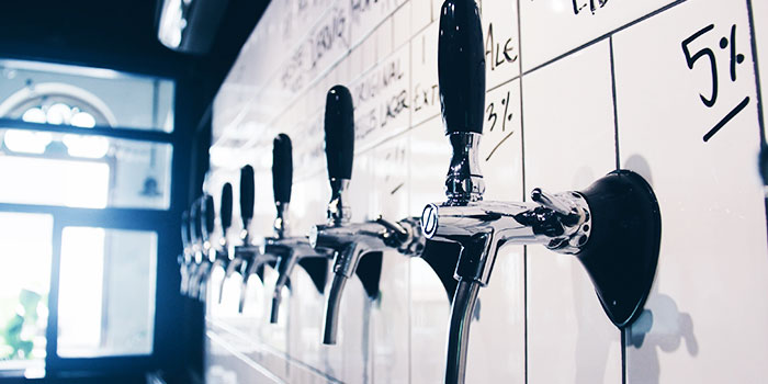 Taps from Freehouse in Raffles Place, Singapore