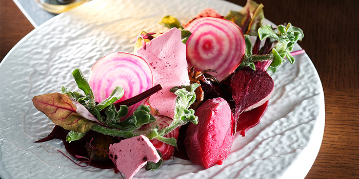 Beetroot from LeVeL33 in Marina Bay Financial Centre in Marina Bay, Singapore