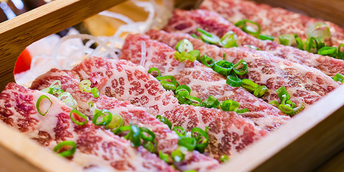 Marbled Short Rib from LongQing in Clarke Quay, Singapore