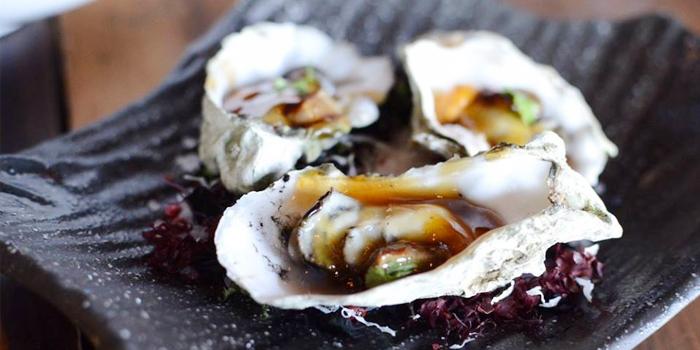 Market Oysters from Morimoto Bangkok at MahaNakhon Cube, Bangkok