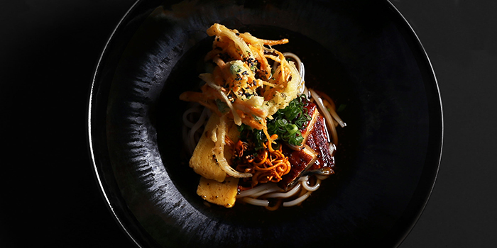 Unagi and Inaniwa Udon from NUDE Seafood in Marina Bay Financial Centre in Raffles Place, Singapore