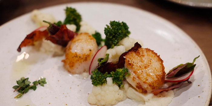Seared Scallops from Toby