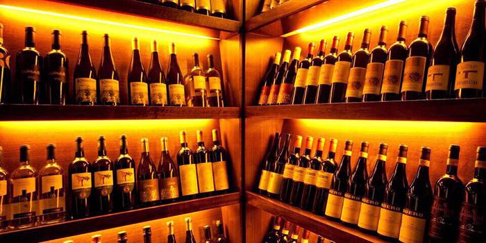 Wine Cellar of Doppio Zero, Sheung Wan, Hong Kong