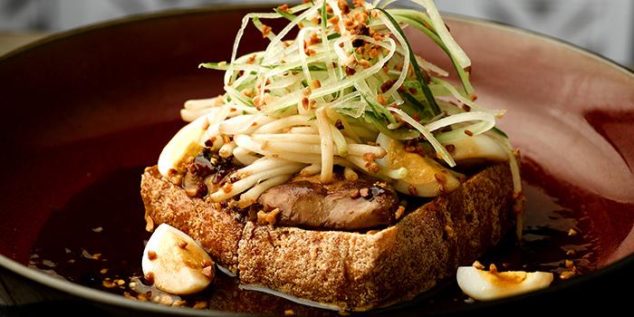 Foie Gras Tau Kwa Pau from Baba Chews Bar and Eatery in Hotel Indigo Singapore Katong in East Coast, Singapore