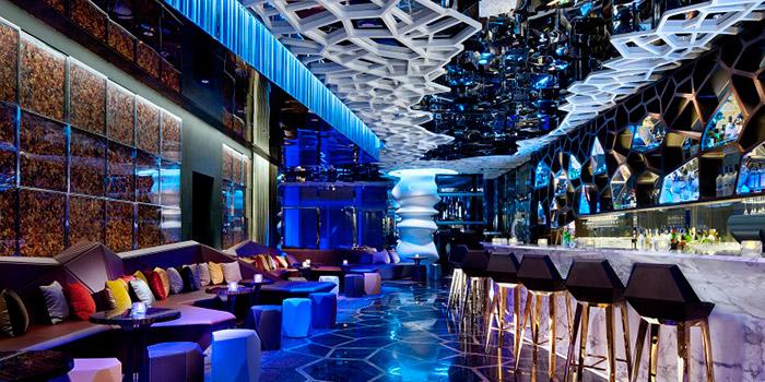Bar Area of Ozone, Tsim Sha Tsui, Hong Kong
