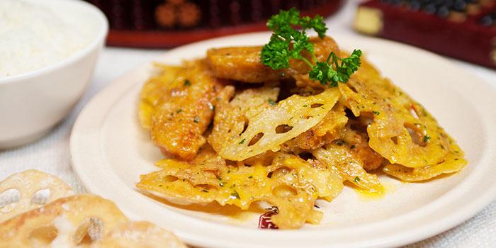Golden Lotus Roots from Dian Xiao Er (Lot One) in Choa Chu Kang, Singapore