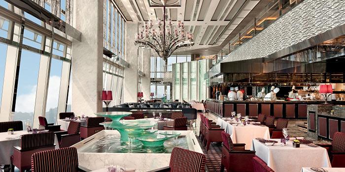Dining Area Tosca, Tsim Sha Tsui, Hong Kong
