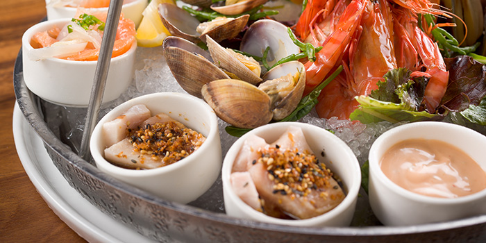 Cold Seafood Platter from Greenwood Fish Market along Quayside Isle in Sentosa, Singapore